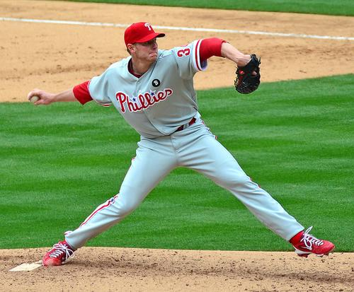 MLB Advanced Media helped Cisco pitch its vision of the 'Internet of Everything,' here conceptually illustrated by a photo of phormer Philadelphia Phillies pitcher Roy Halladay.  Source: SD Dirk