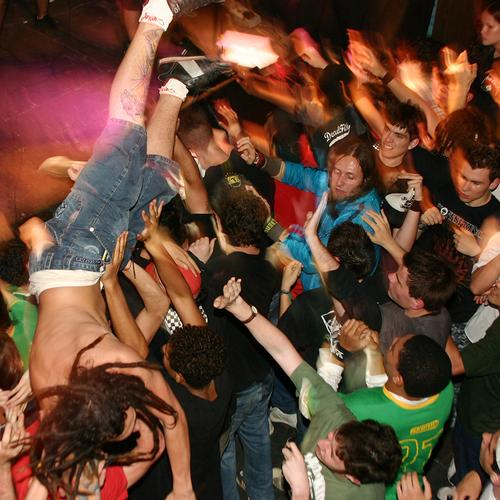 The small cell mosh pit is not for the faint-hearted...