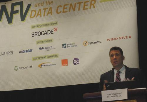 Chris Eldredge, executive VP data center services, NTT America.