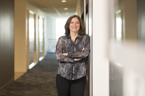 Rebecca Jacoby, senior VP operations, Cisco
