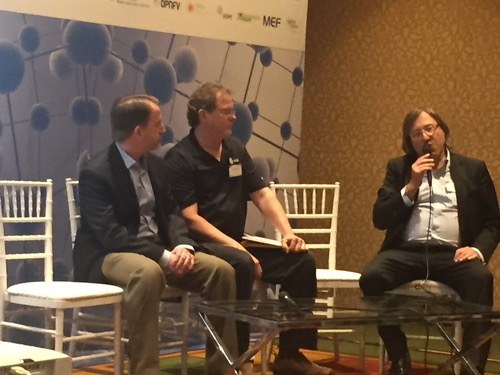 CableLabs' Chris Donley, AT&T's Bryan Sullivan, and Telecom Italia's Luigi Licciardi discussed pain points for NFV adoption on a panel.