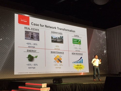 Verizon's Sampath makes the case for network transformation, whether forced to do it by a natural disaster or not.
