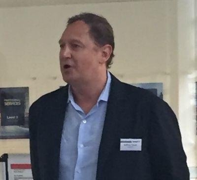Andrew Crouch, Level 3's regional EMEA president