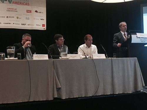 Heavy Reading analyst Jim Hodges discuses the state of the NFV market, while Hitachi's Paul Bourdreaux, Mitel's Kevin Summers, and TELUS's Nima Salehi listen in.