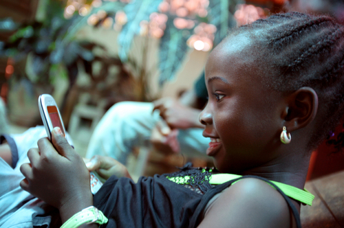 Text messaging is widely used in Africa, but the availability of Internet messaging services on lower-cost smartphones poses a threat to this business.