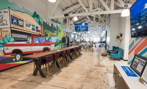 Walmart's 'innovation hub' in Austin, Texas.