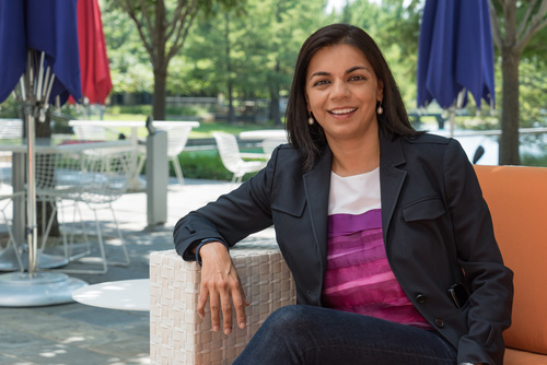 Gunjan Aggarwal, vice president of talent acquisition, diversity recruiting and mergers and acquisitions, Ericsson