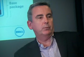 Tom Burns, VP and general manager, Dell networking and enterprise infrastructure