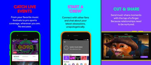 Promo for Verizon Go90 app