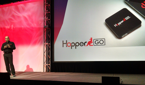 Dish HopperGO launch at CES 2016