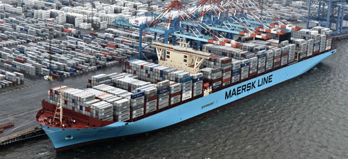 AT&T has a deal with A.P. Moller-Maersk Group to connect refrigerated containers on its shipping lines, making this one of the largest IIoT deployments of its kind.