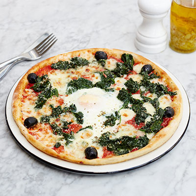 The Pizza Express Fiorentina: It's the egg that clinches it.
