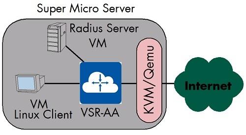 Figure 15: VSR-AA - Demo Setup