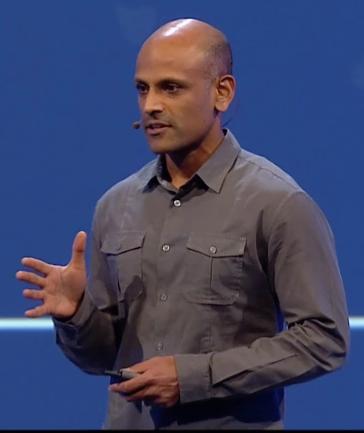 Facebook VP engineering Jay Parikh delivers his keynote Wednesday.