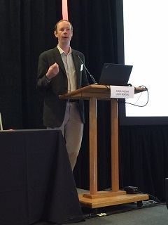 Andrew Coward, vice president of strategy at Brocade, delivers his keynote at NFV & Carrier SDN.