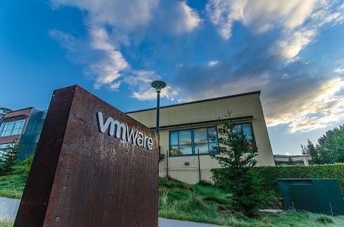 No clouds over VMware's numbers. (Source: VMware)