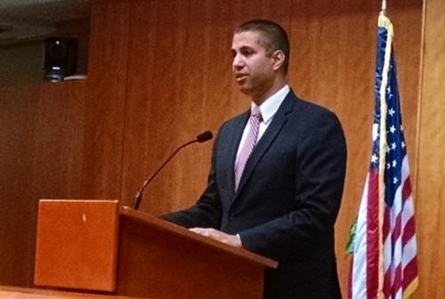 FCC Chairman Ajit Pai presides.