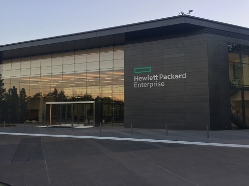 HPE's accounting department remains busy this year. (Source: HPE)