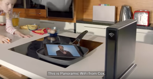 New Cox Super Bowl commercial for Panoramic WiFi was directed by Joseph Kahn, who is known in the music world for directing videos for U2, Moby and DMX, among others.