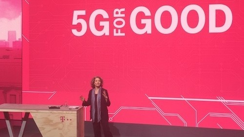 Claudia Nemat, the head of technology and innovation for Germany's Deutsche Telekom, thinks 5G could open up a range of new service opportunities.