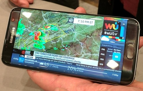 Shown here, live television streamed by Comcast over IP.