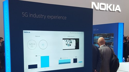Nokia was offering some suggestions about future 5G applications at MWC 2017.