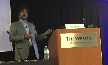 Kelly Ahuja, president and CEO of Versa Networks.