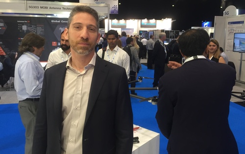 Karim El Malki, Athonet's CEO, says his business has doubled in size in each of the last three years.