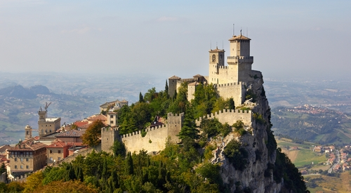 San Marino: Like Disneyland, but with better coffee and a worse soccer team.