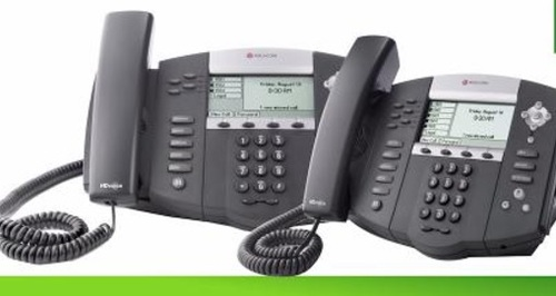 Polycom VoIP phones are one option for small businesses.