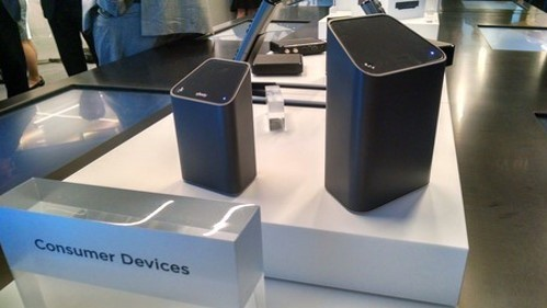 Product shot of Comcast's D3.1-powered gigabit gateway, now known as the xFi Advanced Wireless Gateway