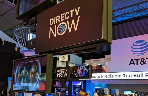 AT&T showcased DirecTV Now at Mobile World Congress in 2017