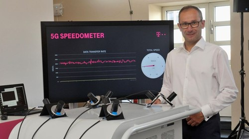 'With this real-world achievement, Deutsche Telekom is making its first important step towards a 5G network launch' -- Bruno Jacobfeuerborn, CTO,  Deutsche Telekom.