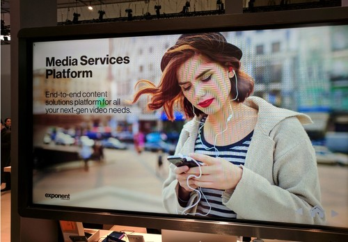 Verizon touted Exponent at Mobile World Congress in early 2017