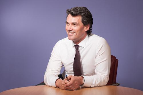 BT CEO Gavin Patterson during happier, beardless days.