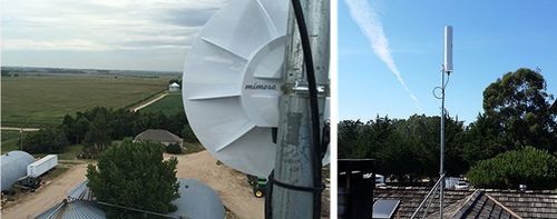 Mimosa gear shown in fixed wireless deployments