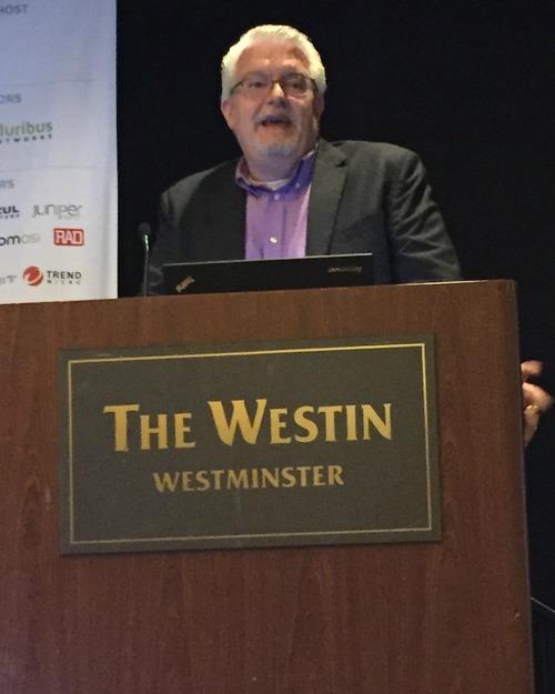 CenturyLink's Bill Walker at Light Reading's NFV & Carrier SDN event.