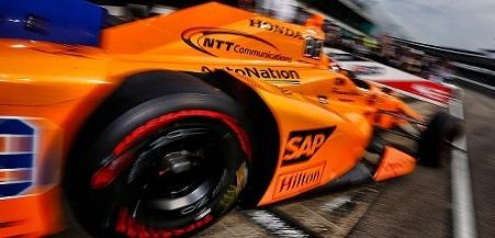 Photo of McLaren-Honda race car courtesy of McLaren and NTT Communications.