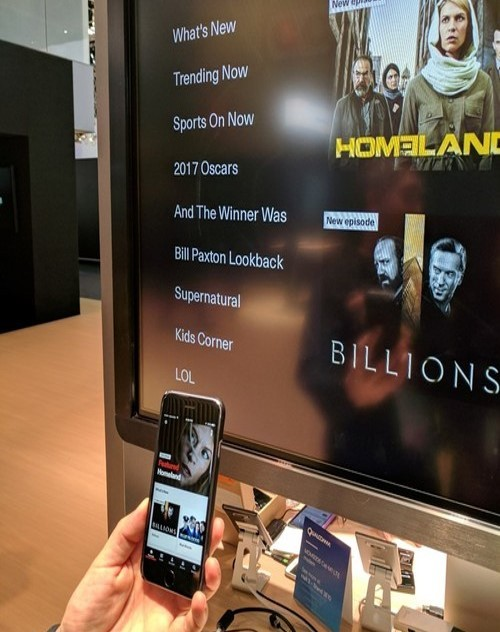 Verizon demonstrated an updated version of its Fios TV product at Mobile World Congress, but so far there's still no word of a commercial launch.