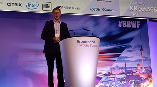 BT's Howard Watson gives the BBWF crowd an update on the UK operator's broadband progress.