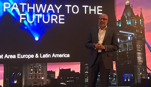 Arun Bansal, the head of Ericsson's businesses in Europe and Latin America, sees evidence of growing 5G interest in western Europe.