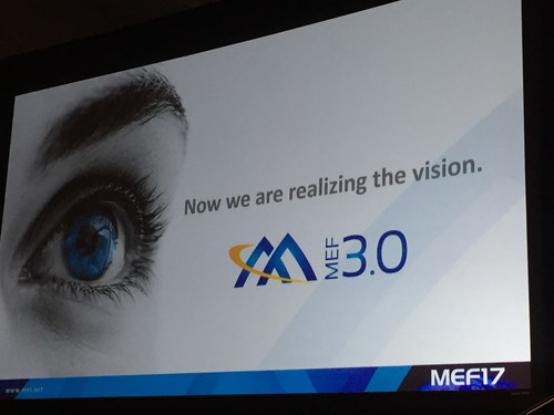 MEF also unveiled a cool new logo.