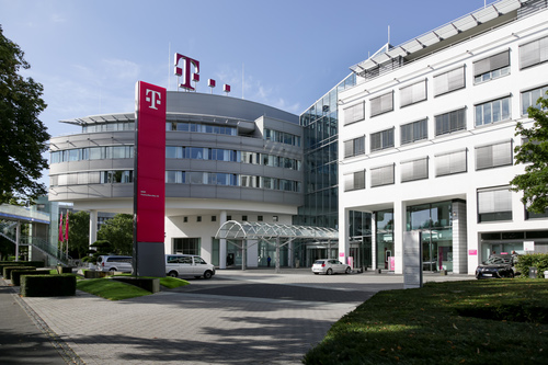 Deutsche Telekom's headquarters in Bonn, where many of its staff are based.
