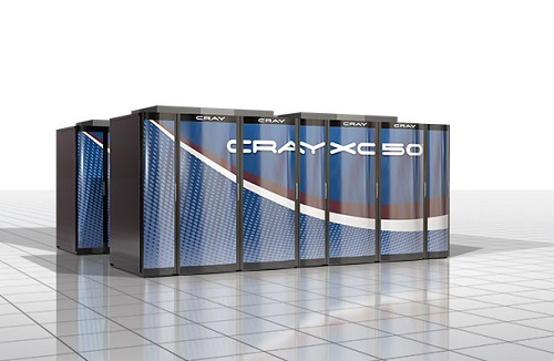 A Cray supercomputer