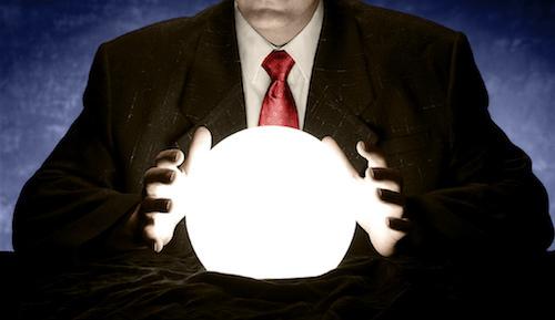 Telecom executives are peering nervously into the near future.