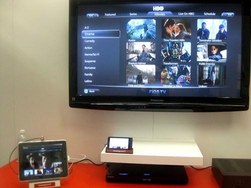 Verizon IPTV demo in 2011