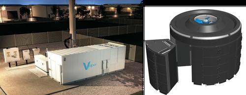 Vapor Edge Module shown left, with Vapor Chamber design on right.