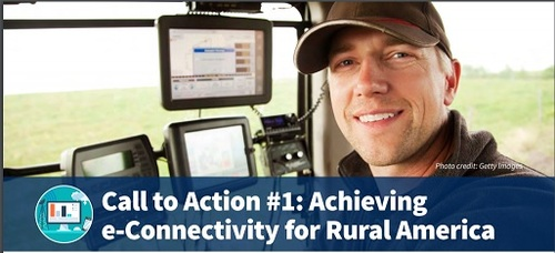 USDA report lists e-connectivity as number one priority.