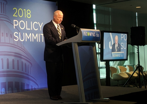 Representative Mike Coffman (R-CO) speaking at the 2018 Incompas Policy Summit