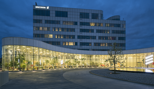 Ericsson's headquarters in Kista, Sweden.